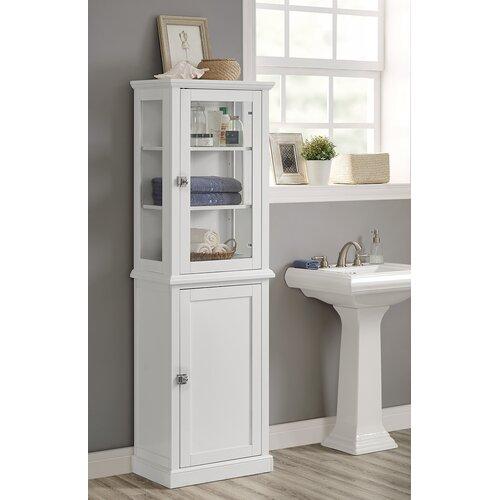 Wayfair Free Standing Kitchen Cabinets: Birch Lane Pennington Tall Cabinet & Reviews