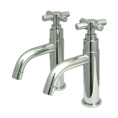 Concord Double Handle Basin Faucet Set by Kingston Brass