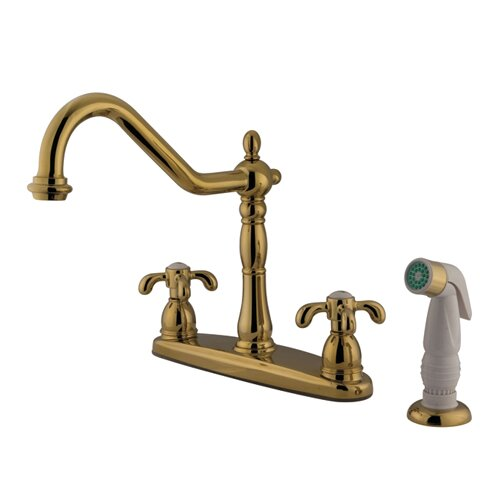 french country kitchen faucet country handle centerset kitchen faucet with 3612