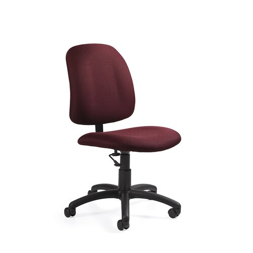 Global Total fice Low Back Pneumatic Armless Task Chair