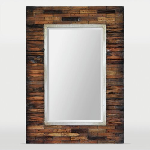 Ren wil pretoria 42 h x 30 w mirror reviews wayfair for Mirror 50 x 30