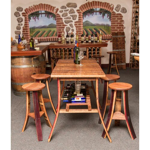 Napa east collection wine country pub tasting table for Furniture 4 less napa