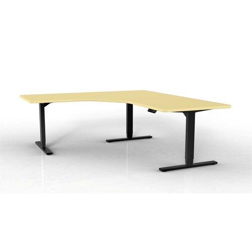 StandDesk Height & Width Adjustable 3 Leg Desk Base