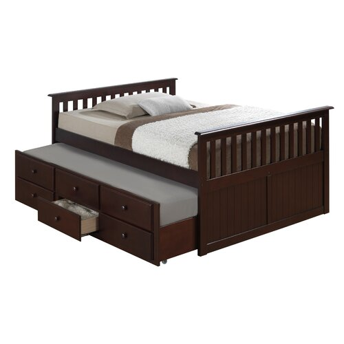 Broyhill Kids Marco Island Full Captains Bed With Trundle