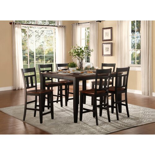 Andover Mills Rollins Extendable Dining Table Reviews: Andover Mills Thornton Counter Height Extendable Dining