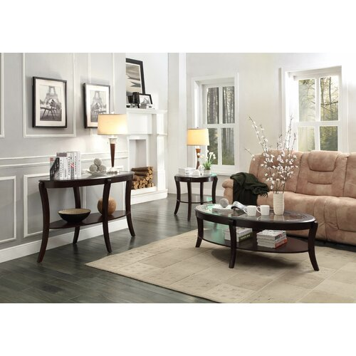 Woodhaven hill pierre coffee table set reviews wayfair - Woodbridge home designs avalon coffee table ...