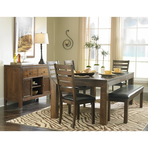 Woodhaven Hill Eagleville Cherry Kitchen Bench & Reviews