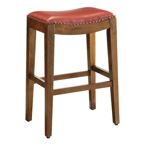 "OSP Designs Metro 29"" Bar Stool With Cushion & Reviews"