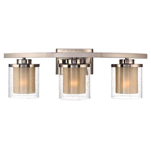 Bathroom Vanity Lights Too Hot : Dolan Designs Horizon 3 Light Bath Vanity Light & Reviews Wayfair