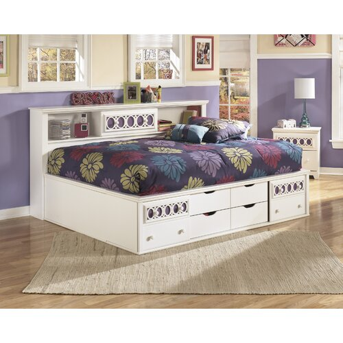 Signature Design By Ashley Zayley Twin/Full Captain Bed