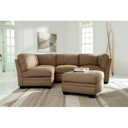 Signature design by ashley iago sectional reviews wayfair for Lago furniture