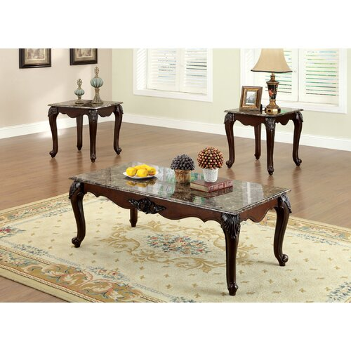 Hokku Coffee Table Sets: Hokku Designs Mariann 3 Piece Coffee Table Set & Reviews