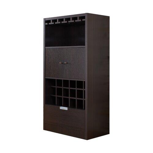 Merino 18 Bottle Wall Mounted Wine Cabinet ZOK 2575D6
