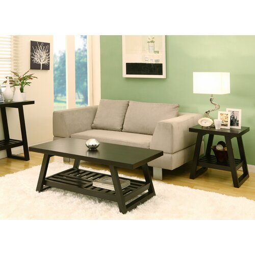 Hokku Coffee Table Sets: Hokku Designs Parker 2 Piece Coffee Table Set & Reviews