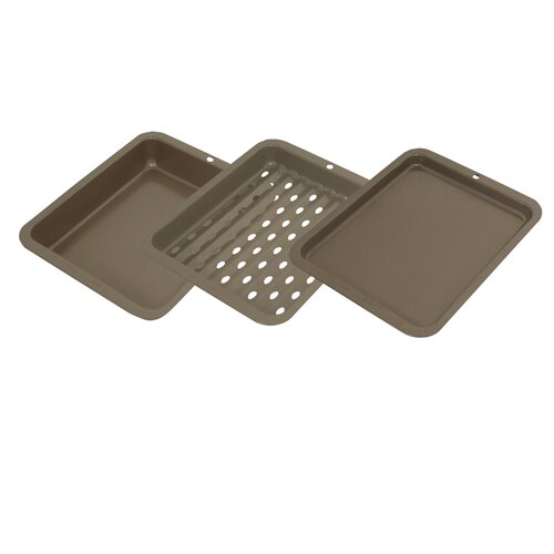 3 Piece Toaster Oven Bakeware Set by Range Kleen