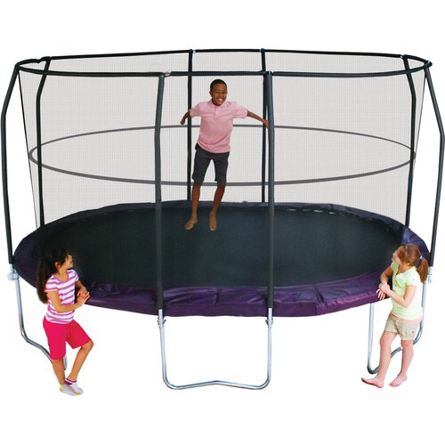 Trampoline Sale 55 8 11 12 13 14 15 17 X15 Oval: Connector With Welded Slot 14' Oval Trampoline