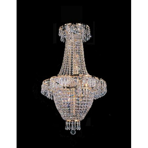 Harrison Lane French Empire 4 Light Crystal Chandelier Reviews