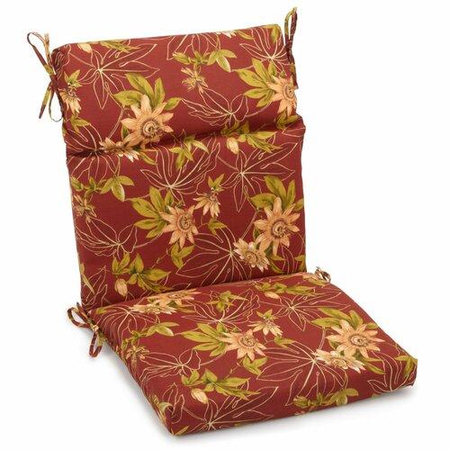 Blazing Needles Outdoor Adirondack Chair Cushion Reviews Wayfair