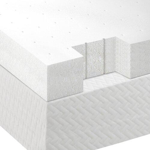 """Lucid 4"""" Memory Foam Mattress Topper & Reviews"""
