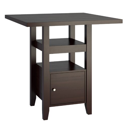 CorLiving Bistro Counter Height Dining Table & Reviews Wayfair