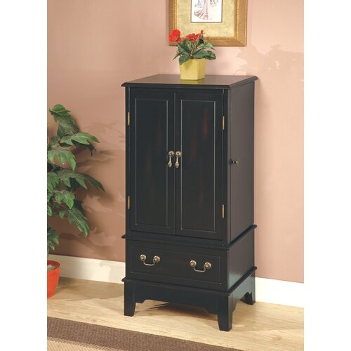 Wapato Jewelry Armoire with Mirror by Wildon Home ®