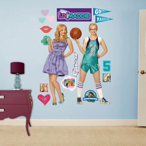 Disney Liv And Maddie Peel And Stick Wall Decal Wayfair