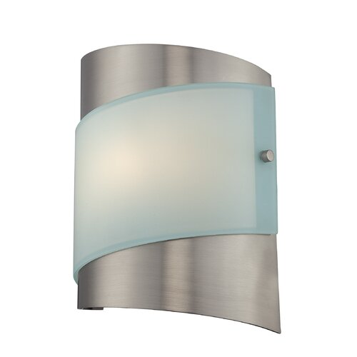 bathroom light fixtures otiavio 1 light wall sconce wayfair 10846