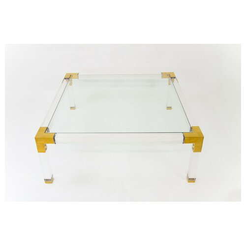 Lucite Trousdale Coffee Table