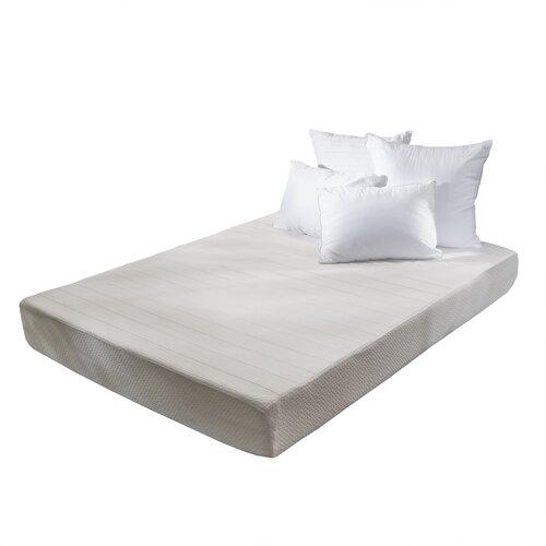 "Home Loft Concepts 10"" Memory Foam Mattress & Reviews"