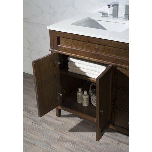 Home Loft Concepts Hamilton 59 Double Sink Bathroom Vanity Set Reviews Wayfair