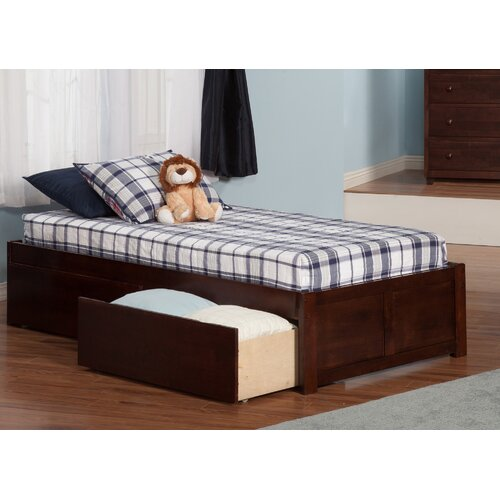 andover mills williams extra long twin platform bed with storage reviews wayfair. Black Bedroom Furniture Sets. Home Design Ideas