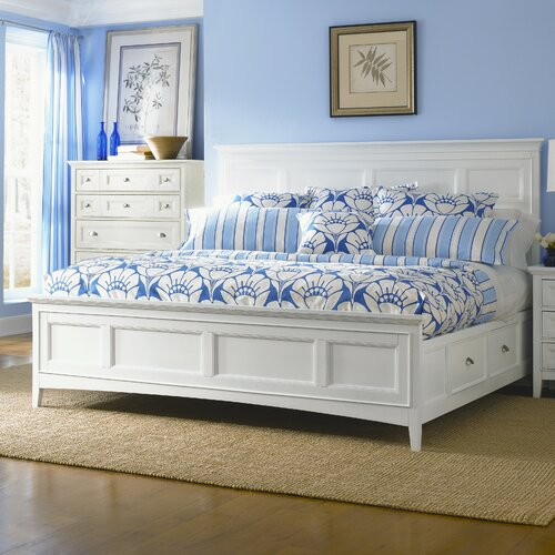 white storage bed with drawers 3