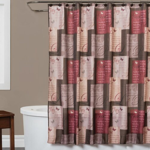 Saturday Knight Grace Shower Curtain & Reviews | Wayfair