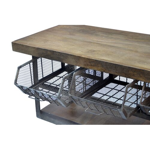 Cdi International Industrial Kitchen Cart With Mango Top