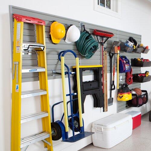 Flexible Garage Wall Storage: Flow Wall Garage & Hardware Storage System & Reviews