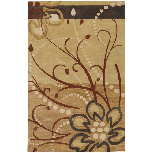 Surya Athena Tan Beige Area Rug Amp Reviews Wayfair