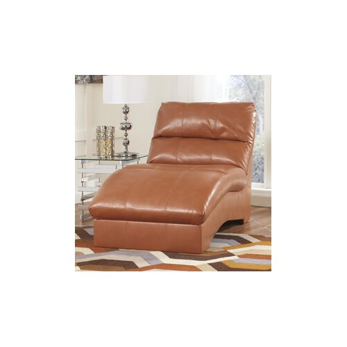 Benchcraft paulie durablend chaise lounge reviews wayfair for Benchcraft chaise lounge