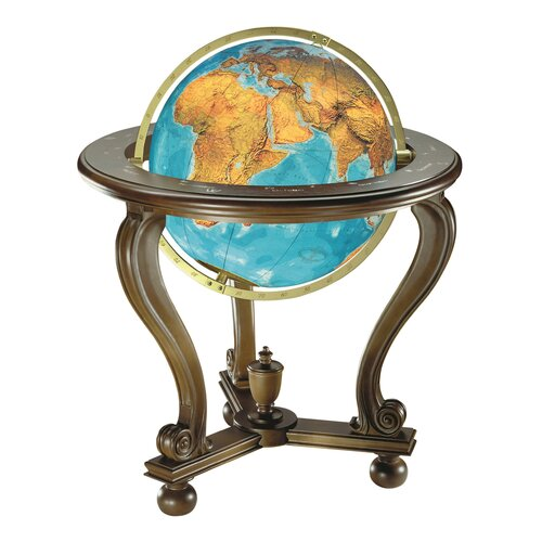 Berlin Illuminated Floor Globe Wayfair