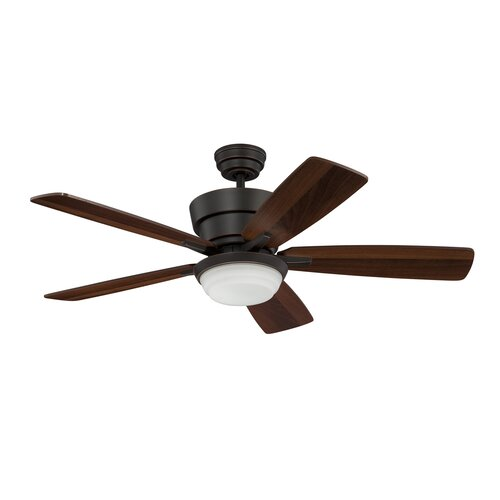 "Kendal Lighting 44"" Barcelona 5 Blade Ceiling Fan With"