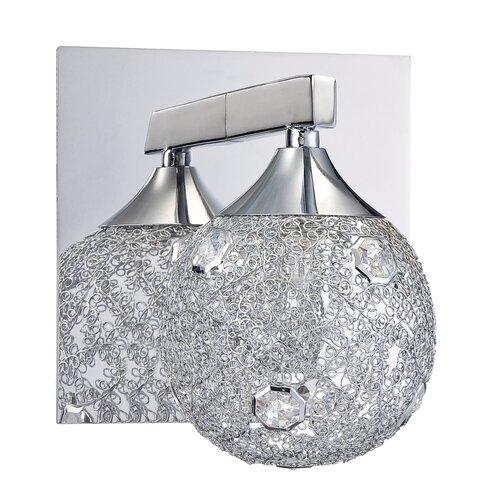 Moen Yb8863ch 90 Degree Chrome Vanity Light Bathroom Lighting: Moen 90 Degree 2 Light Bath Vanity Light & Reviews