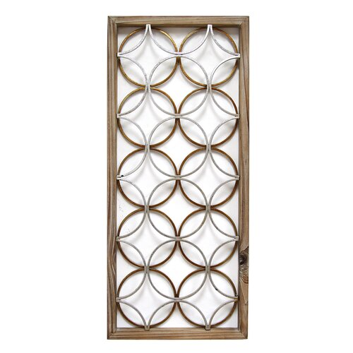 Wall Decoration Rings : Stratton home decor rings panel wall d?cor reviews wayfair