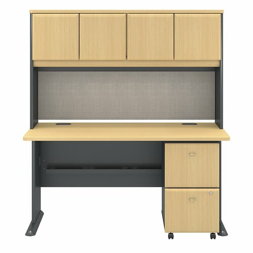 Bush Business Furniture Series A fice Desk with Hutch