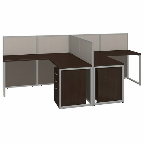 bush business furniture easy office l shape desk open