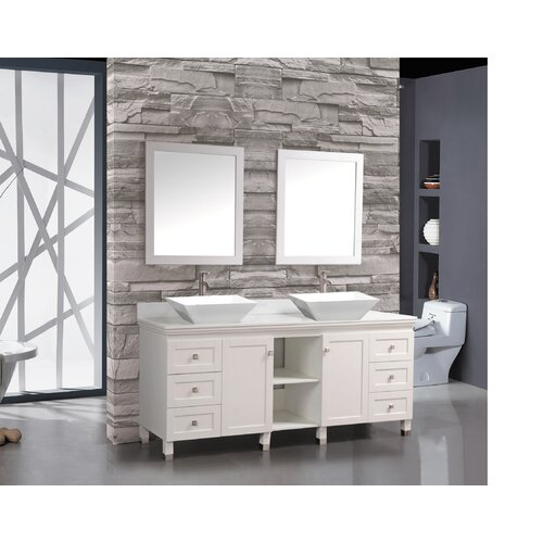 mtd vanities belarus 72 double sink bathroom vanity set with mirror