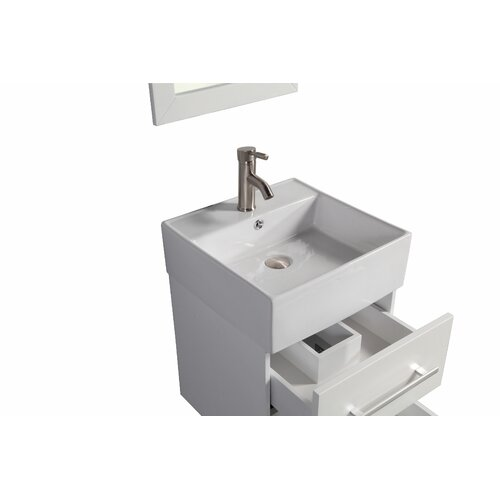 nepal 18 single sink wall mounted bathroom vanity set
