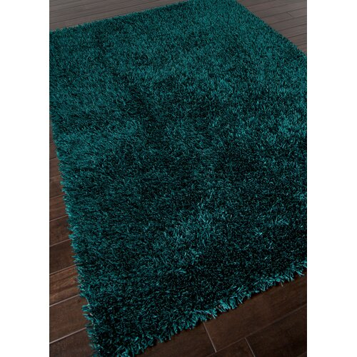Jaipur Rugs Flux Teal Blue Shag Area Rug Amp Reviews Wayfair
