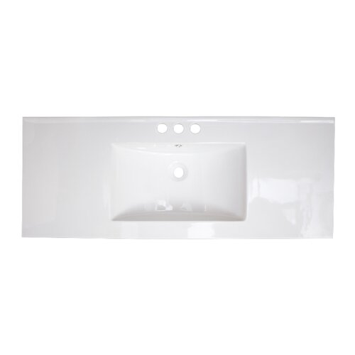 49 ceramic bathroom vanity top by american imaginations