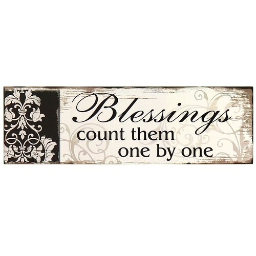 Blessings Home Decor: Letter2Word Blessed Wall Décor & Reviews