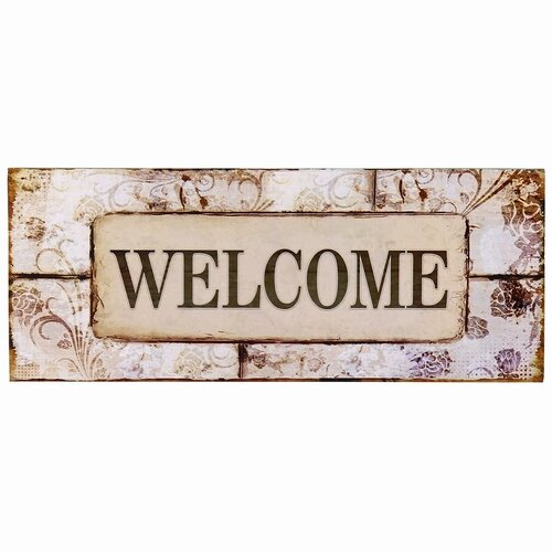 """AdecoTrading """"Welcome"""" Wall Decor & Reviews"""