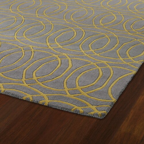 Kaleen Revolution Yellow Grey Area Rug Amp Reviews Wayfair